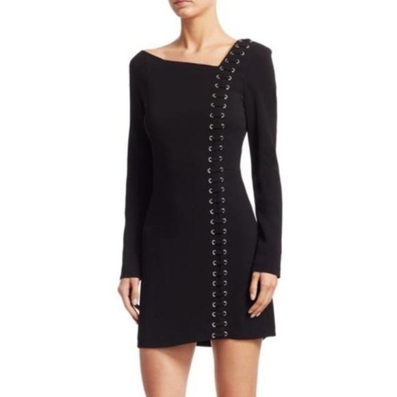 A.L.C. Dresses & Skirts - NWT ALC Luca grommet black lace up dress